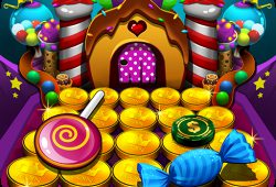Download Candy Donuts Coin Party Dozer Mod Apk